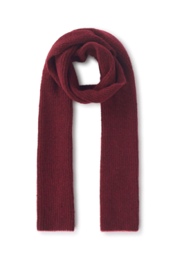 Paloma Wool Plaza Scarf in Aubergine