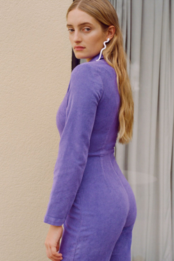Paloma Wool Paufe Jumpsuit in Lilac