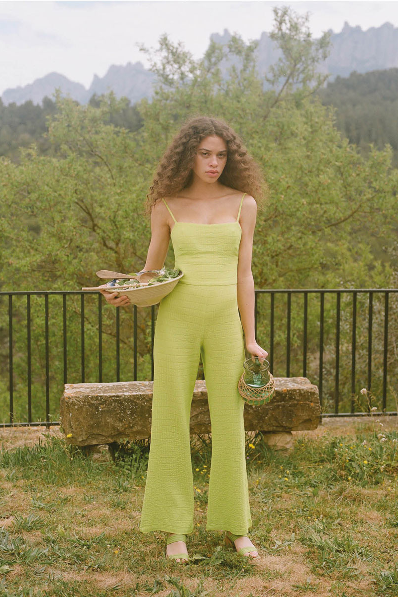 Paloma Wool Ava Jumpsuit in Light Green