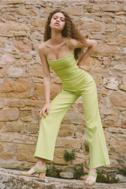 Paloma Wool Ava Jumpsuit in Light Green