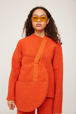 Rita Row Handbag in Orange