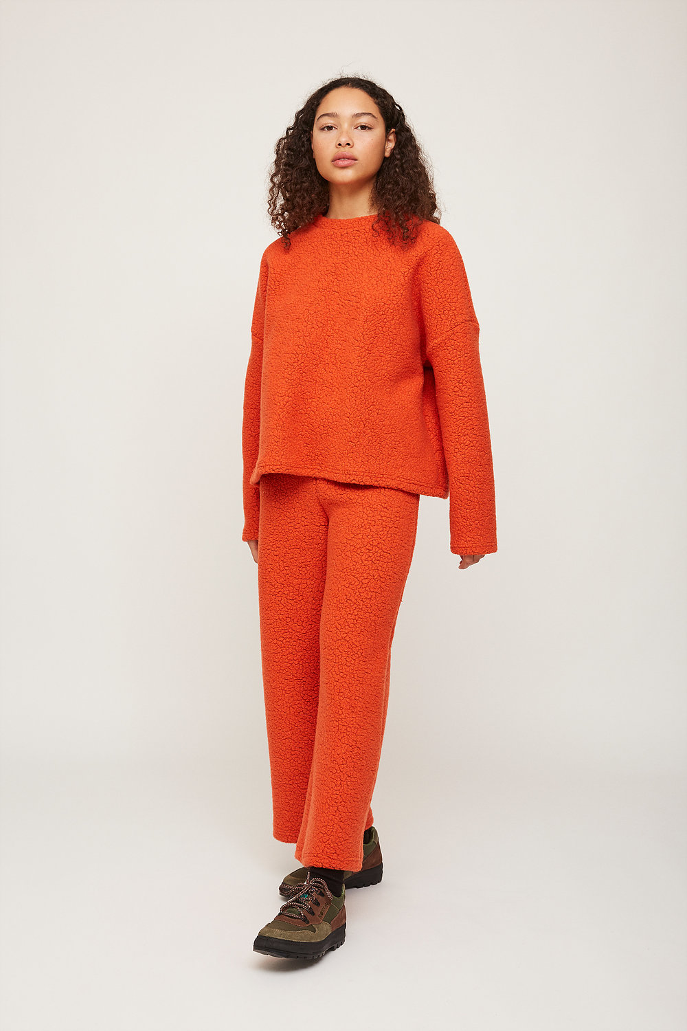 Rita Row Sweatshirt in Orange