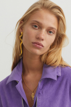 Paloma Wool Serpiente Earrings in Gold