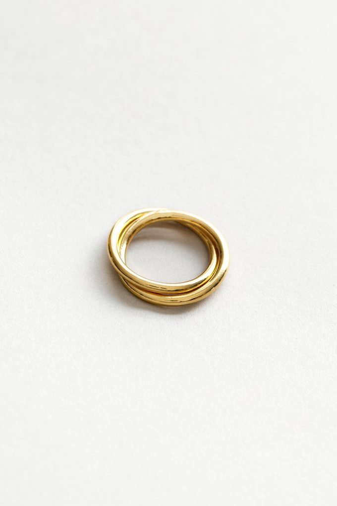 Wolf Circus Celine Ring in Gold