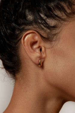 Wolf Circus Dune Baby Studs in Gold