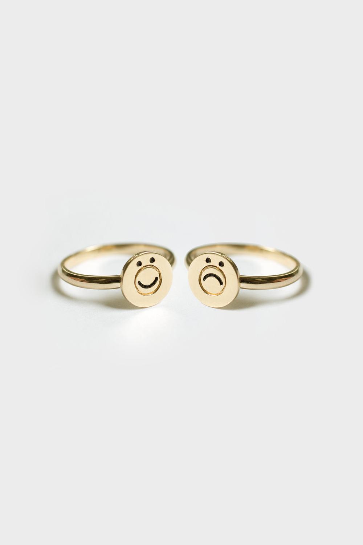 Merewif Happysad Ring