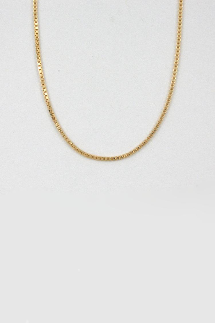 Merewif Wyatt Chain Necklace in Gold