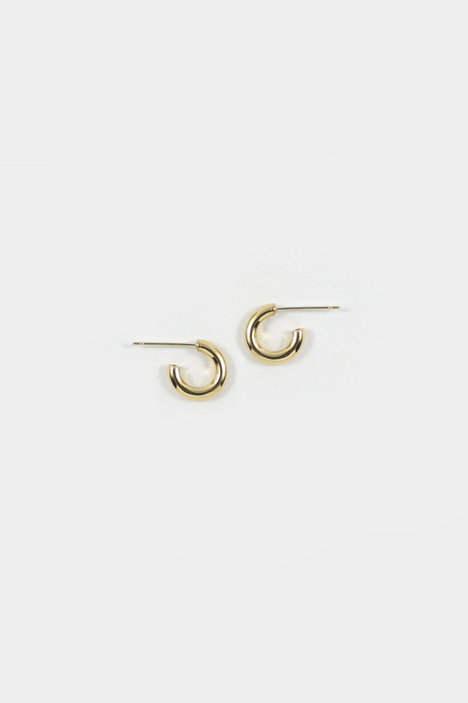 Merewif Lil Jane Hoops in Gold