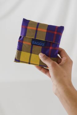 Baggu Baggu in Yellow Tartan
