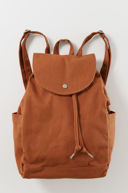 Baggu Drawstring Backpack in Umber