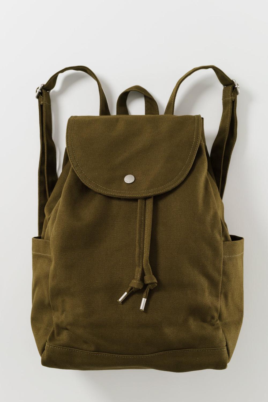Baggu Drawstring Backpack in Kelp