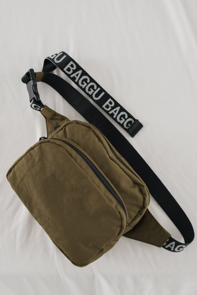 Baggu Fanny Pack in Kelp