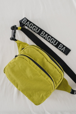 Baggu Fanny Pack in Chartreuse