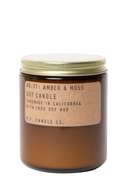 P.F. Candle Co. Amber + Moss Soy Candle