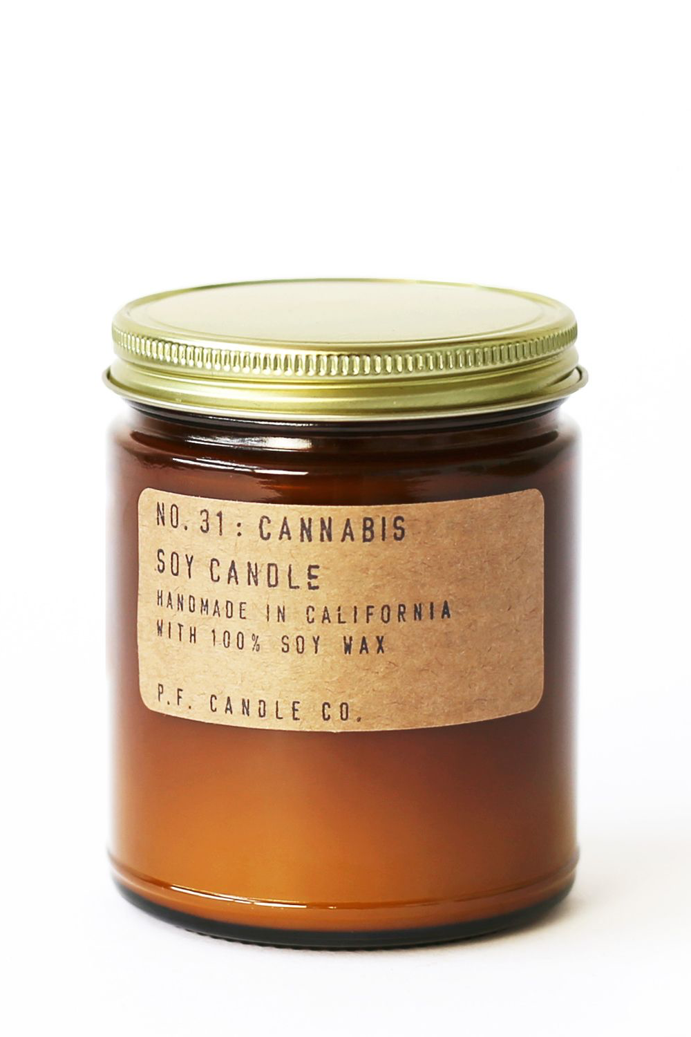 P.F. Candle Co. Cannabis Soy Candle