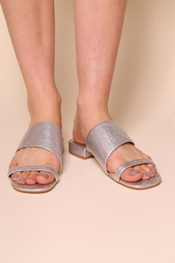 Intentionally Blank Jes Sandal in Silver