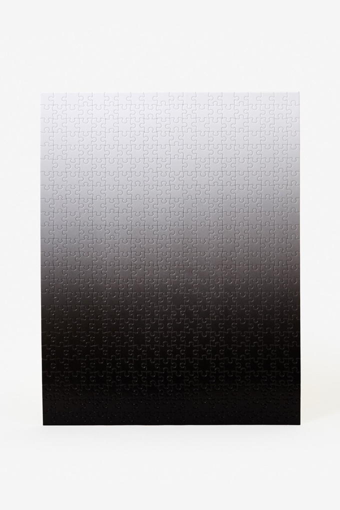 Areaware Gradient Puzzle in Black/White