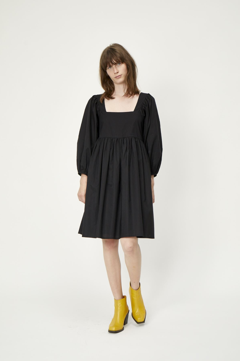 Just Female Merle Dress in Black