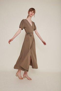 Rita Row Silvia Dress in Topo