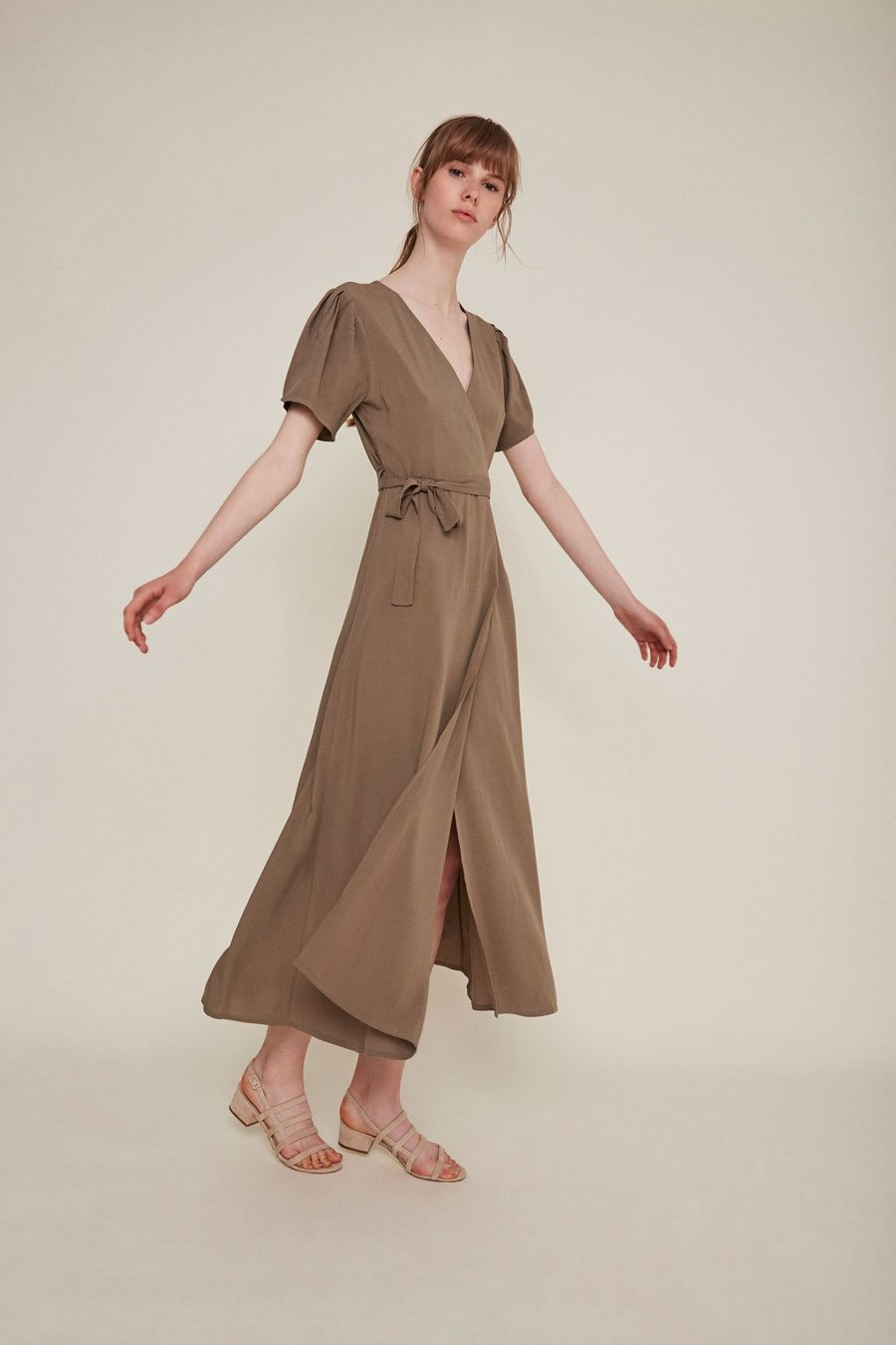 Rita Row Silvia Dress in Topo