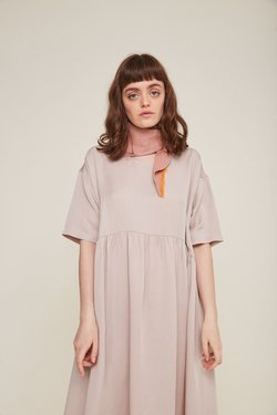 Rita Row Bianca Dress in Beige