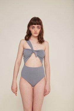 Rita Row Eligia Swimsuit in Black Gingham