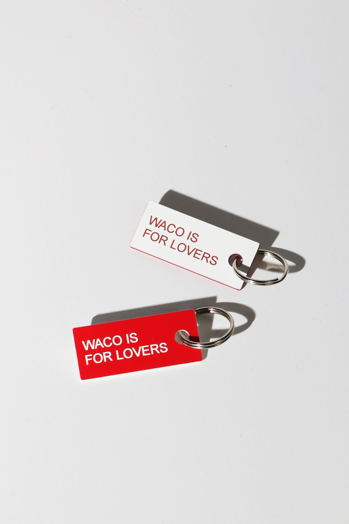 Waco Is For Lovers Keytags