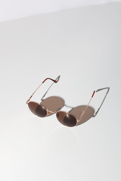 Reality Instant Karma Sunglasses in Gold