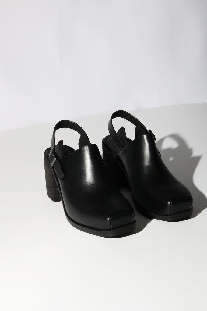 Intentionally Blank Honcho Mule in Black