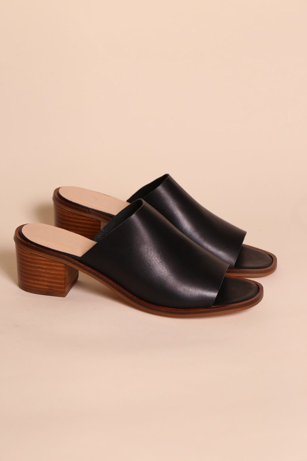 Intentionally Blank Deb Mule in Black