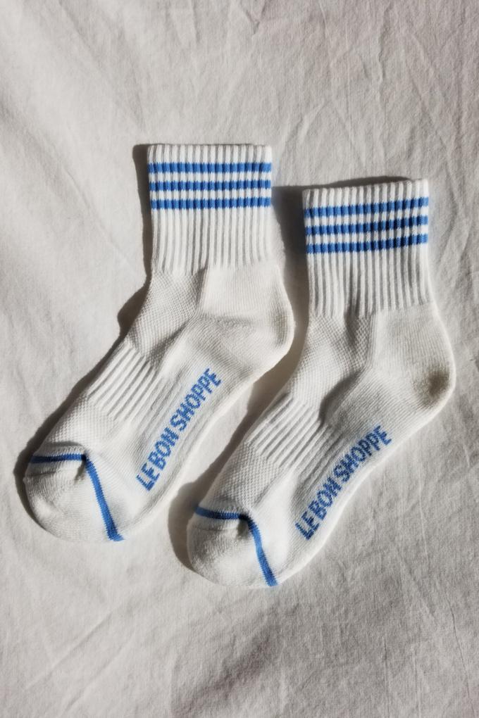 Le Bon Shoppe Girlfriend Socks in Ivory