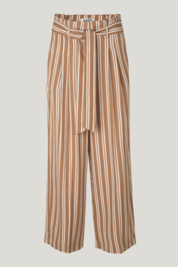 Just Female Wendy Trousers in Thrush Stripe