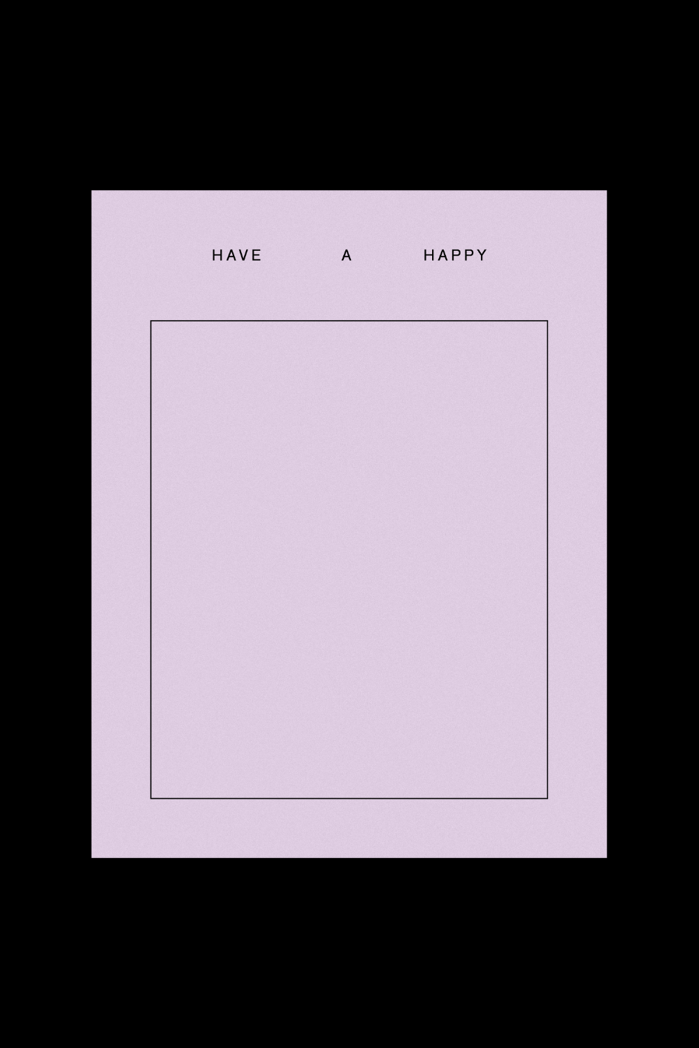 Goods Gang Have A Happy _____ Card
