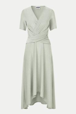 Just Female Utopio Dress in Celadon Green