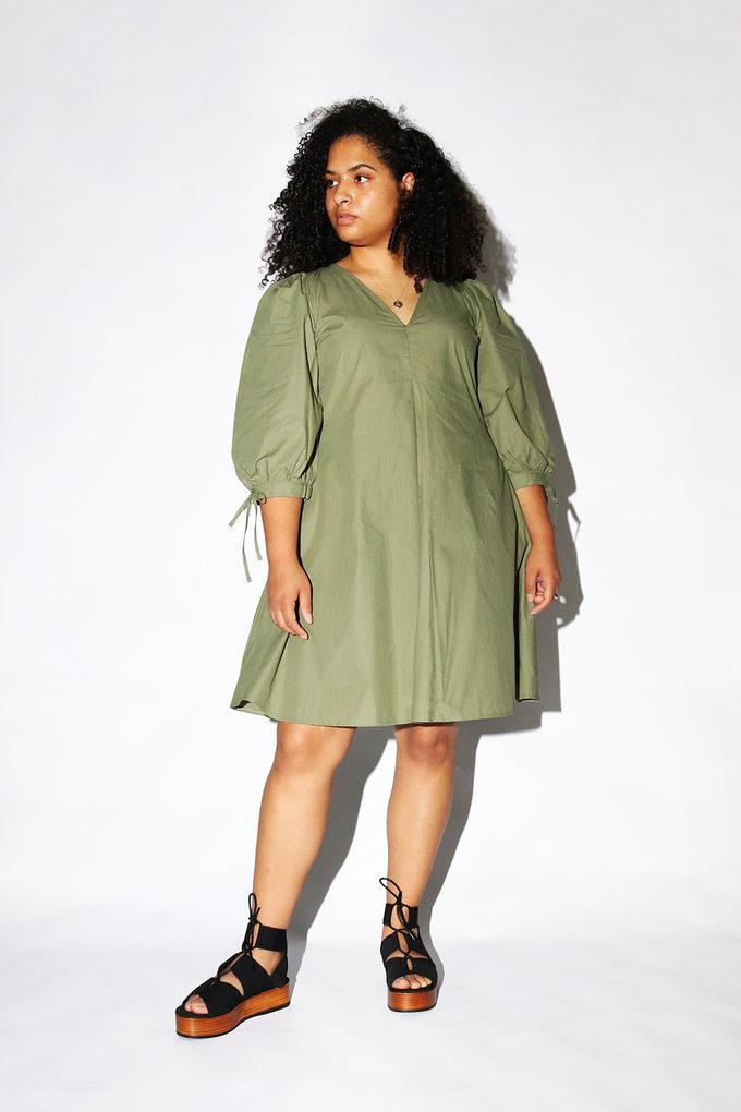 Just Female Nanita Dress in Clover