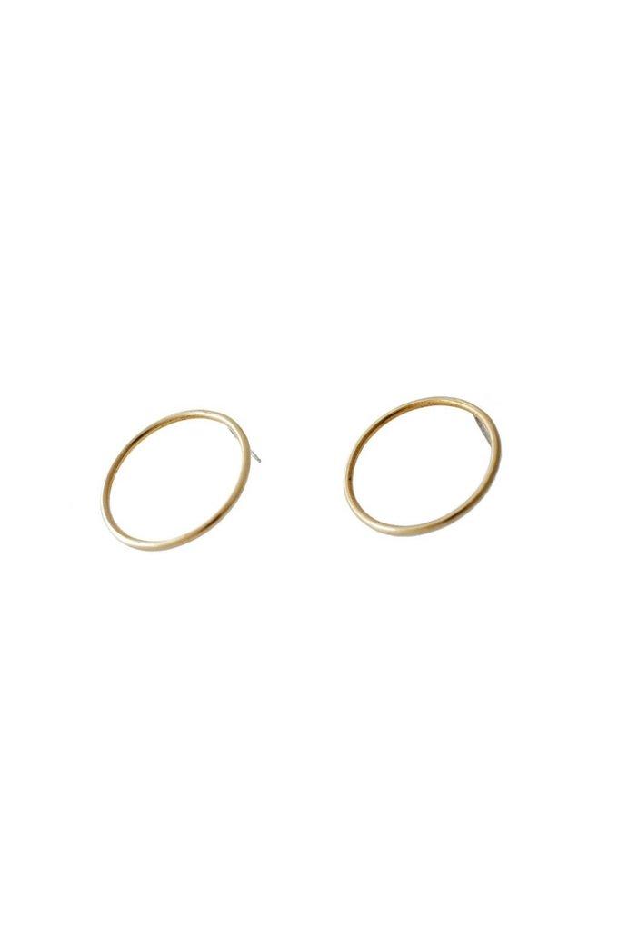 EM Jewelry+Design Sula Studs in Brass