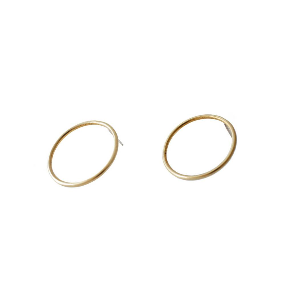 EM Jewelry+Design Sula Studs in Brass