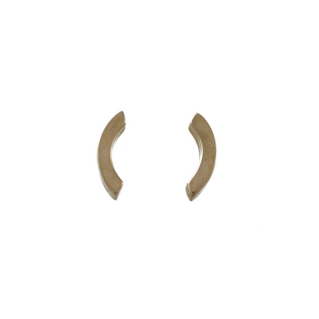 EM Jewelry+Design Olli Studs in Brass