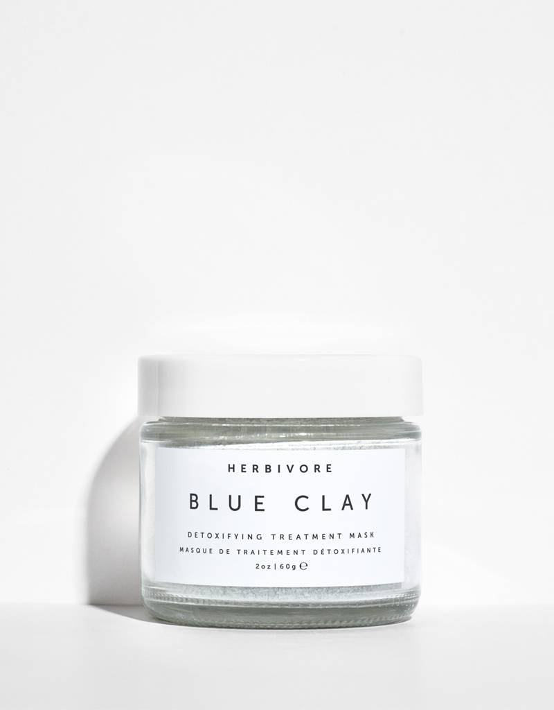 Herbivore Botanicals Blue Clay Spot Treatment Mask