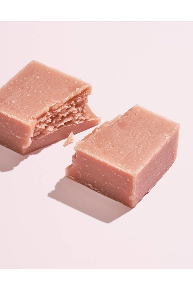 Herbivore Botanicals Pink Clay Face + Body Soap