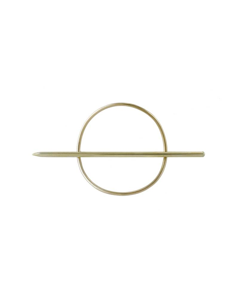 EM Jewelry+Design Mini Circle Hair Pin