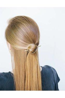 EM Jewelry+Design Circle Hair Pin