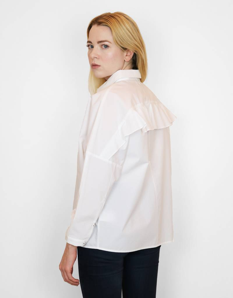 Just Female Kei Shirt in White