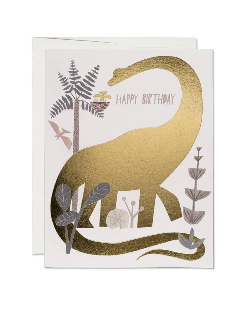 Red Cap Cards Dinosaur Birthday Card