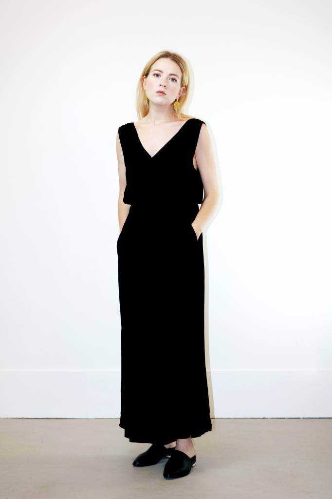 Just Female Elena Jumpsuit in Black