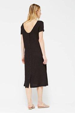 Lacausa Saffron Dress in Tar