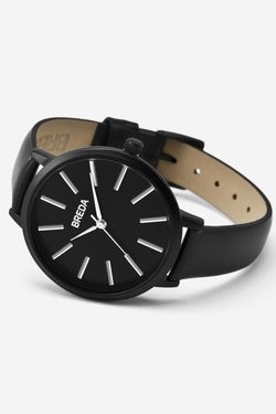 Breda Joule Watch in Black + Black