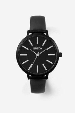Breda Joule Watch in Black + Black