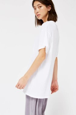 Lacausa Tall Tee in Whitewash