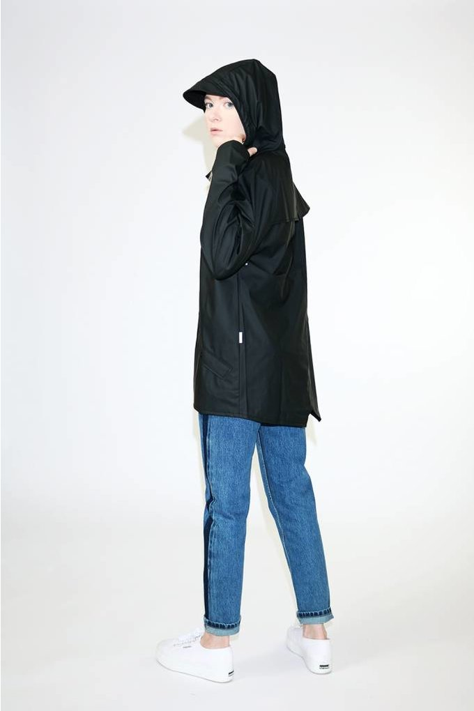 Rains Rains Jacket in Black